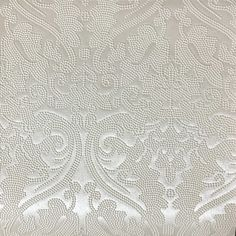 Lyon - Damask Designer Pattern Vinyl Home Decor Upholstery Fabric by the Yard - Available in 8 Colors