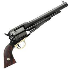"1858 Remington Conversion Revolver .45 Long Colt 5.5"" Barrel 6 Rounds Steel Frame Brass Trigger Guard."