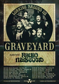 Graveyard Tour with Radio Moscow