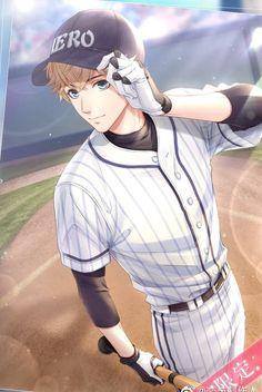 Baseball Jersey New York - White Baseball Hat - Baseball Cards Crafts - - Cubs Baseball Crafts - Baseball Hat Pattern Anime Boys, Cool Anime Guys, Hot Anime Boy, Handsome Anime Guys, Manga Boy, Baseball Anime, Baseball Boys, Baseball Shirts, Desenhos Love