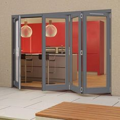Folding Patio Doors Folding Patio Doors, The Doors, Locker Storage, Indoor, Wall, Furniture, Home Decor, Interior, Decoration Home