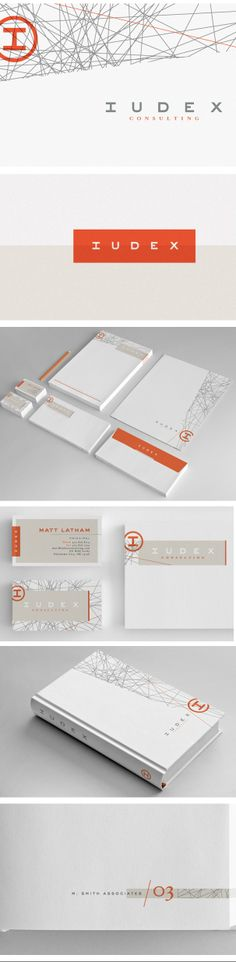 More branding.  I like this because the graphic elements use the space well.  The intersecting lines don't overwhelm the entire space, even though they easily could.  They balance themselves well with the gray and orange, the sharp diagonal lines and the white space.