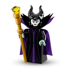 [X] MALEFICENT - LEGO® Minifigures The Disney Series (Item 71012) | Sched. Release Date = 2016/0501
