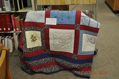 Quilt Works Display Red Bay Library