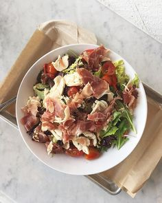 I was craving a BAS (Big ass salad) so I stopped by @mendocinofarms to grab my favorite Sophisticated Chicken and Prosciutto salad. Always hits the spot! Now for a little @wholefoods shopping! #lajollalocals #sandiegoconnection #sdlocals - posted by Clean Eating with a Dirty Mind  https://www.instagram.com/vanessabarajas. See more post on La Jolla at http://LaJollaLocals.com