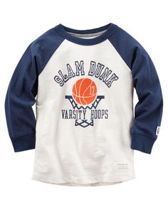 Toddler Boy Long-Sleeve Raglan Tee | Carters.com