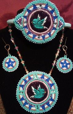 beadwork I've done....it sold just sharing!!!
