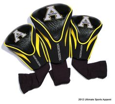 App St Contour Sock Headcovers  $49.99  Conference apparel | FREE Priority Mail Shipping | College Sports Apparel |