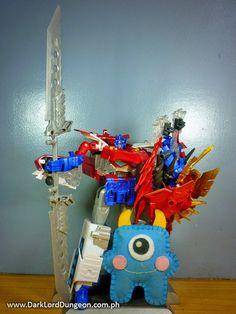 Dark Lord Dungeon: Transformers Go! Optimus Prime