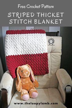 Free Crochet Baby Blanket/Lapgahn Pattern by The Loopy Lamb. Free Crochet Baby Blanket/Lapgahn Pattern by The Loopy Lamb. Crochet For Beginners Blanket, Easy Crochet Blanket, Crochet Yarn, Beginner Crochet, Free Crochet, Blanket Yarn, Crochet Blankets, Crotchet, Crochet Ideas