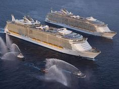 Royal Caribbean sister ships Oasis of the Seas and Allure of the Seas