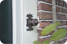 Antique bronze door bell
