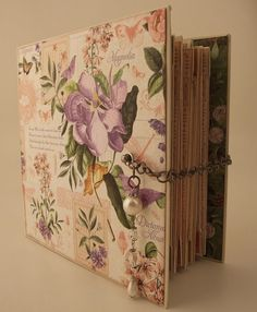 Time to Flourish mini album made by Mandy for www.sirstampalot.co.uk post March 5, 2015