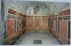 Maison des griffons - Premier style. Cet article récapitule les quatre styles de peinture pompéienne.