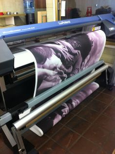 Printing out some neat pictures for a local business.