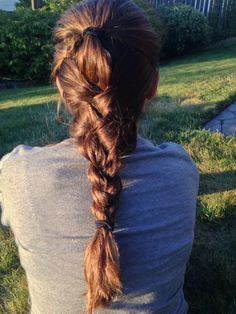 Hairstyles for long hair- Twisted braid💙