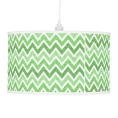 purple glitter chevron pattern lamp