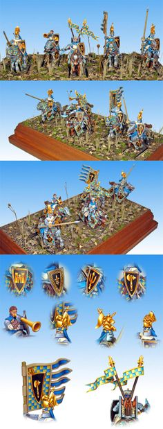 For the Lady - Bretonnian Knights