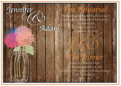 Rehearsal Dinner Invitation on Etsy, $18.00