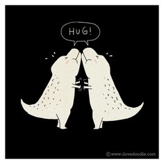 A Simple Hug? by ILoveDoodle, via Flickr
