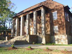 Decker Hall at Kate Duncan Smith DAR School at Grant, AL.
