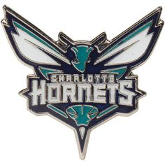 Charlotte Hornets Logo Pin