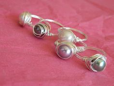Pearl of great price Sew Dang Cute Crafts: Guest Post Tutorial & Giveaway: {Plated Wire Pearl Ring by Shelly Homemaker} Activity Day Girls, Activities For Girls, Activity Days, Wire Wrapped Jewelry, Wire Jewelry, Beaded Jewelry, Jewlery, Wire Crafts, Jewelry Crafts