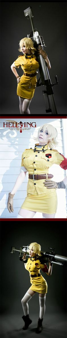 Seras Victoria #Cosplay from Hellsing #Anime