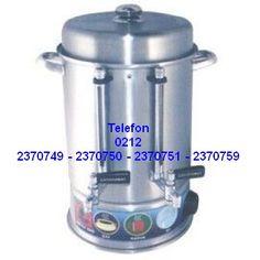 Çay Makinası Çay Kazanları : Metal Musluklu Çay Otomatı