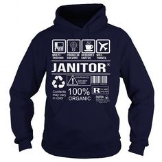 Awesome Tee For Janitor T Shirts, Hoodies Sweatshirts. Check price ==► http://store.customtshirts.xyz/go.php?u=https://www.sunfrog.com/LifeStyle/Awesome-Tee-For-Janitor-92705989-Navy-Blue-Hoodie.html?41382