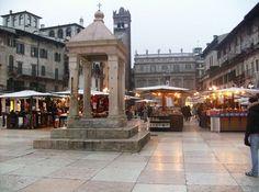 Piazza delle Erbe, Verona.