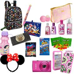 """My Must Haves in My Bag @Disney world"" by crdbaby on Polyvore"