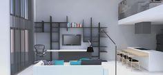 The Loft of my friend. Designed with @Laísa Carpaneda