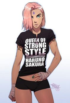 Badass Sakura Haruno!