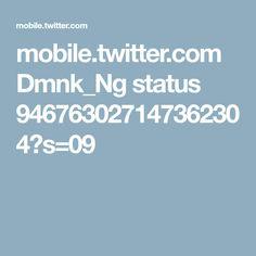 mobile.twitter.com Dmnk_Ng status 946763027147362304?s=09