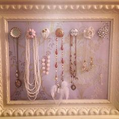 Necklace holder by Elle Fowler @missellefowler
