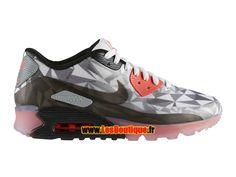 Nike Air Max 90 Ice - Chaussure de Sports Nike Pas Cher Pour Homme Gris  foncé