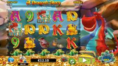 Play A Dragon's Story which has grasping storyline & amazing theme at Vegas Paradise casino. Play to get lots of riches!! #slots #casino  Get Sign up bonus of £5 now at Vegas Paradise and much more!!