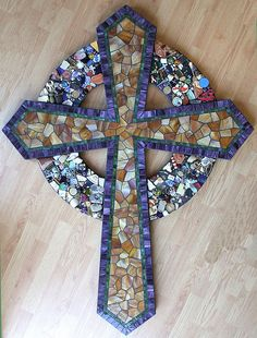 """52x46"""" Finished cross 