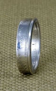 1999 90% Silver US State Quarter Dollar Coin Ring Size 3-13 Delaware Pennsylvania New Jersey Georgia Connecticut 16th Birthday Gift 16 Band