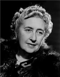 Agatha Christie, author of the Hercules Poirot mystery series and of the Miss Marple mystery series