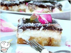 ΓΛΥΚΟ SURVIVOR!!!! Icebox Cake, Greek Recipes, Candy Recipes, Vanilla Cake, Tiramisu, Cheesecake, Deserts, Ice Cream, Sweets