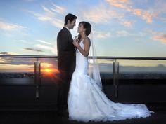Sunset | Rooftop | Melbourne weddings | Wedding photo ideas