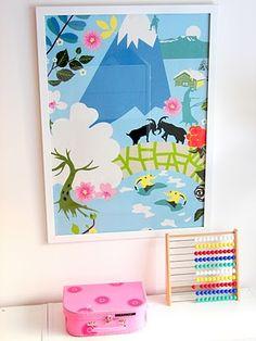 Children's room - Art made from Ikea fabrik - Löytö