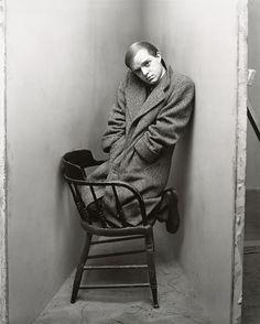 Truman Capote, 1948 © Irving Penn via npg.org.uk