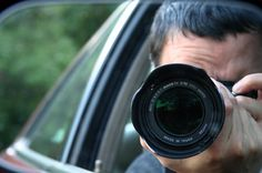 Filming participant's journey from a distance and undercover