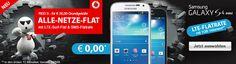 Vodafone RED S Allnet LTE Flat mit Samsung Galaxy S4 mini