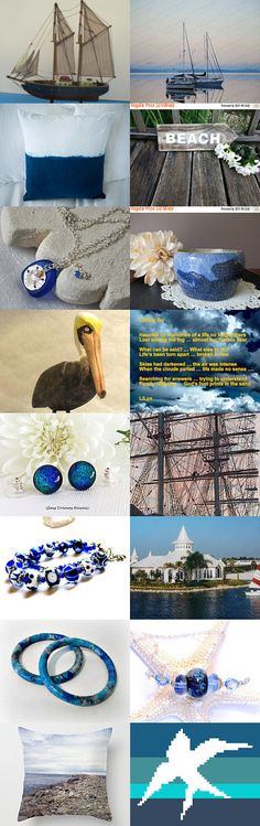 Salt 'n Sand by Margie on Etsy--Pinned+with+TreasuryPin.com