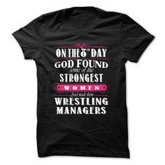 Gw- Wrestling Manager T-Shirt