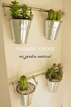 Cómo hacer un jardín vertical en el interior de un piso! | Decorar tu casa es facilisimo.com